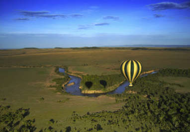 Exclusive-Wilderness-Trails -Tanzania-Serengeti-hot air-balloon
