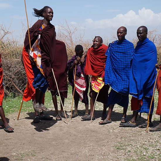 Maasai- dance- Ngorongoro conservation Area-exclusive wilderness trails